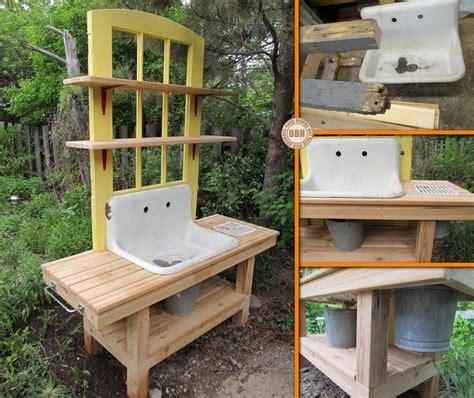 diy potting bench diy repurposed potting bench potting bench pinterest