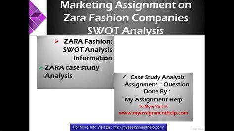 Zara Swot Zara Swot Analysis - zara study swot analysis strategy review by