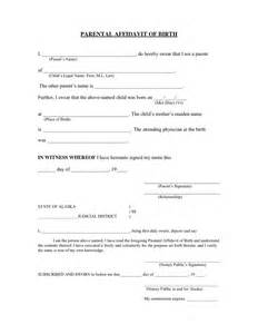 birth notice template affidavit of template blank eviction notice form