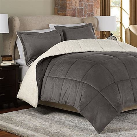 bed bath and beyond bedding sale the seasons 174 reversible down alternative comforter set in