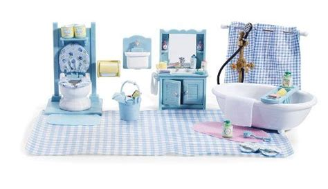 calico critters bathroom set calico critters master bathroom set accessories