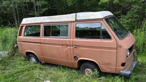 Volkswagen Salvage by Salvage 1980 Volkswagen Vanagon Westfalia For Sale