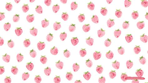 cute pattern desktop wallpaper cute strawberry wallpaper all hd wallpapers