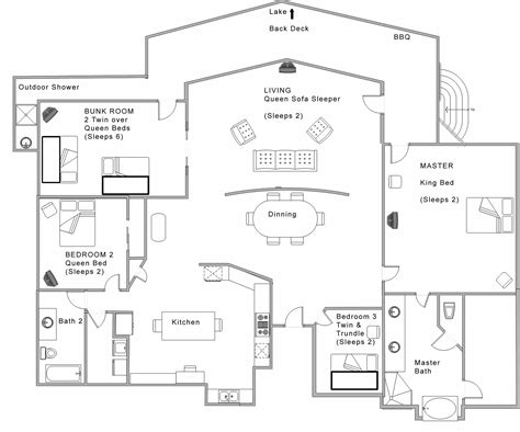 modern open floor plans best open floor house plans cottage house plans
