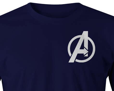 Baju Print Avenger Captain America logo t shirt civil war t shirt avenger