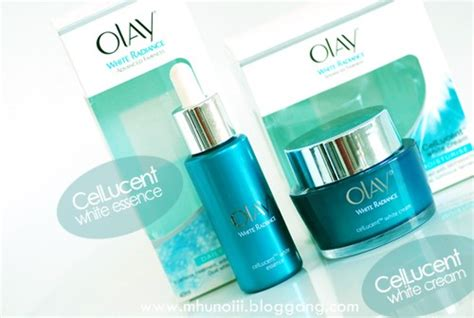 Olay White Radiance Cellucent White Essence bloggang saray review อวดผ วกระจ างใสก บ olay