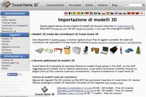 sweet home 3d librerie sweet home 3d camxyz