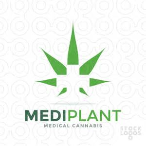 Sold logo medi plant medical cannabis stocklogos com