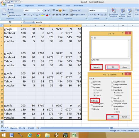 delete sheets in excel shortcut consolidate in