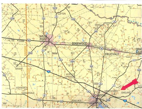 map of zandt county texas 555 acres in zandt county texas