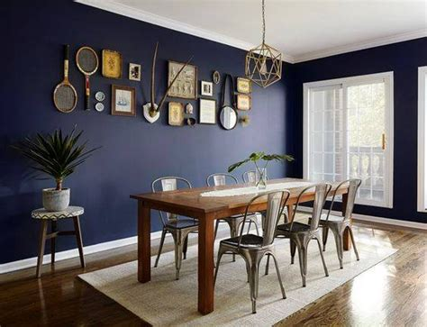 blue dining room ideas navy blue dining room decor ideas domino