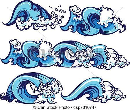 crashing waves drawing simple sketch coloring page crashing water waves illustration waves of water graphic