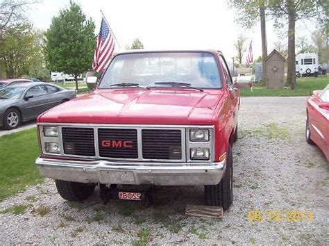1987 gmc parts sell new 1987 gmc 4x4 for parts or repair in