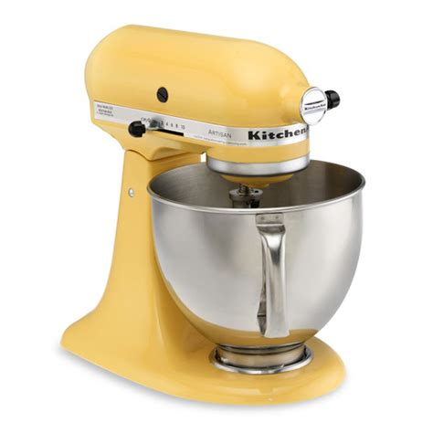 yellow kitchen aid mixer kitchenaid artisan stand mixer