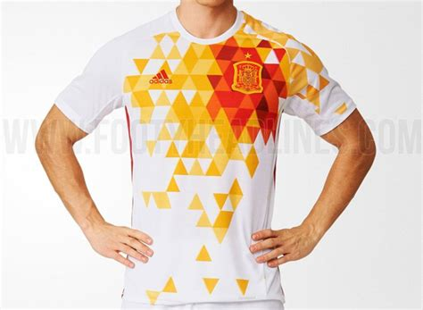 T Shirt Spain Euro2016 paella vomit spain s outlandish new 2016 away kit