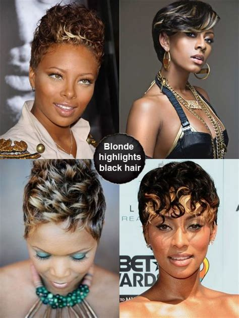 nonopro african american shrumpsa hair blonde highlights hair for black women short african