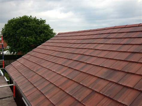 Cement Tile Roof Flute Roofing Concrete Roofers In Manchester Cheshire Altrincham Wilmslow And Stockport