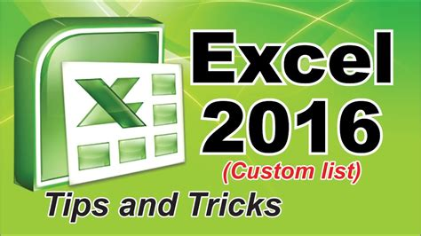 excel tips tutorial how to merge styles and themes of old excel video how to create custom list in excel 2016 excel