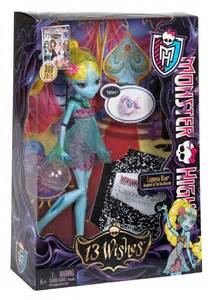 Monster High 13 Wishes Lagoona Blue Doll
