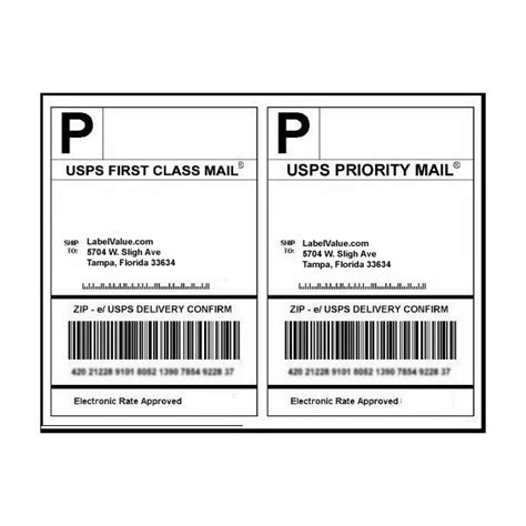 usps shipping label template usps labels click n ship labels free shipping