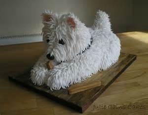 kuchen hund cake westie by julie cains cakes westie food style