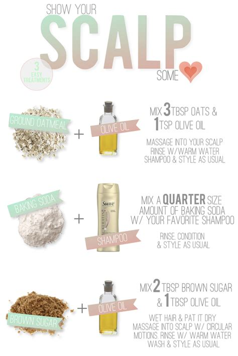 the style dossier diy scalp treatment