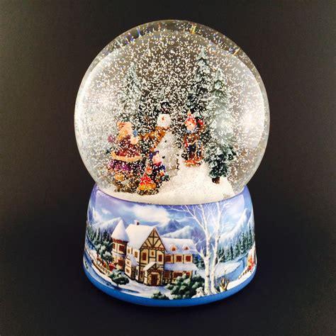 Schneekugel Mit Bild by Schneekugel Schneemann Bauen Santashop