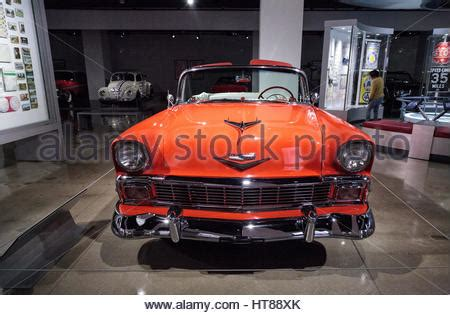 chevrolet convertible classic car from the 50s in