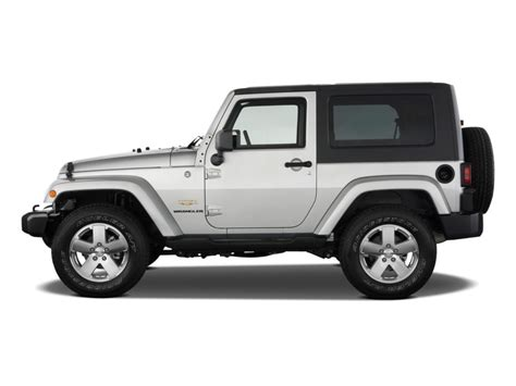 jeep side view image 2009 jeep wrangler 4wd 2 door side exterior