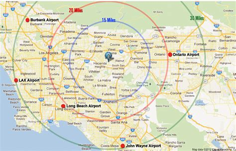 map of los angeles area los angeles resorts area map pacific palms resort