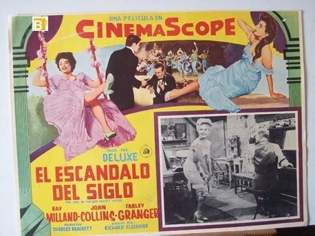 quot el escandalo del siglo quot movie poster quot the in the red velvet swing quot movie poster
