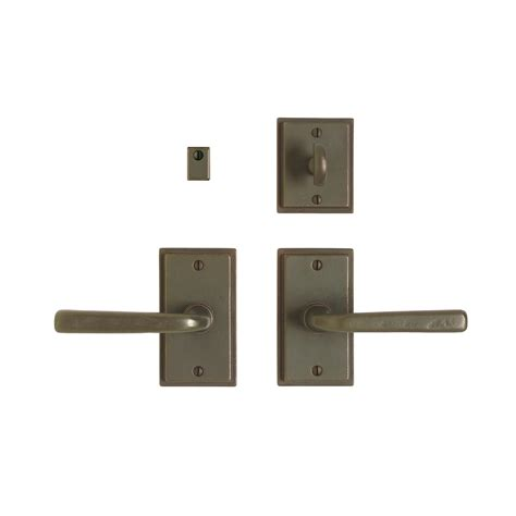 interior door hardware sets stepped privacy set 2 1 2 quot x 4 1 2 quot privacy mortise bolt