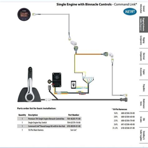 yamaha command link gauges wiring diagram