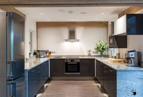 Kitchen Design With Corner Sink by