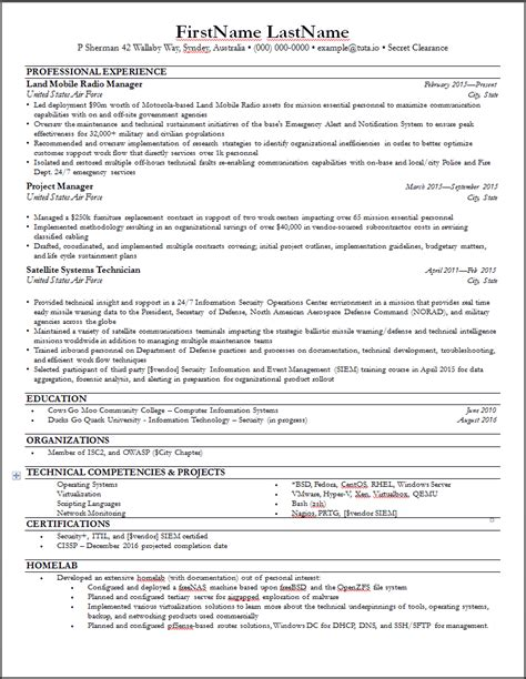 linux resume template linux resume suspended process resume for your