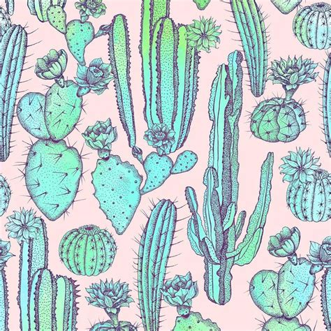 patternbank pinterest cactuses by elmira amirova available on patternbank
