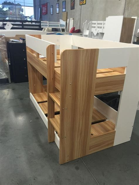 Lowline Bunk Beds Single Lowline Bunk New Design Two Tone Or All White Goingbunks Biz