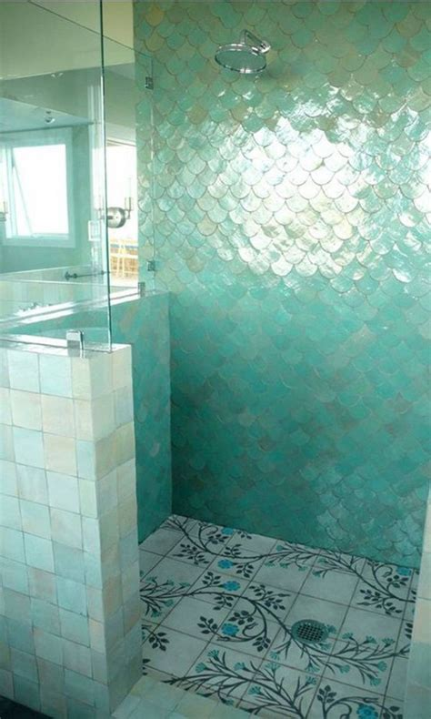 fish bathroom fish scale tiles are the new subway tile domino