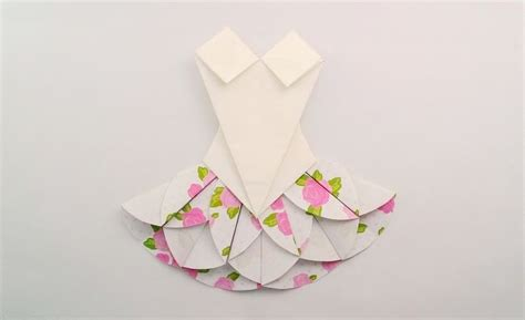 Origami Clothes Folding - best 25 origami dress ideas on bridal shower