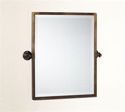 pivot bathroom mirrors kensington pivot rectangular mirror
