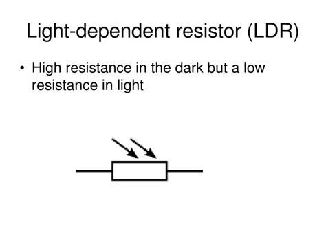 ppt on light dependent resistor light dependent resistor ppt 28 images light dependent resistor light dependent resistor