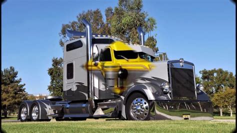 Custom Kenworth Semi Trucks