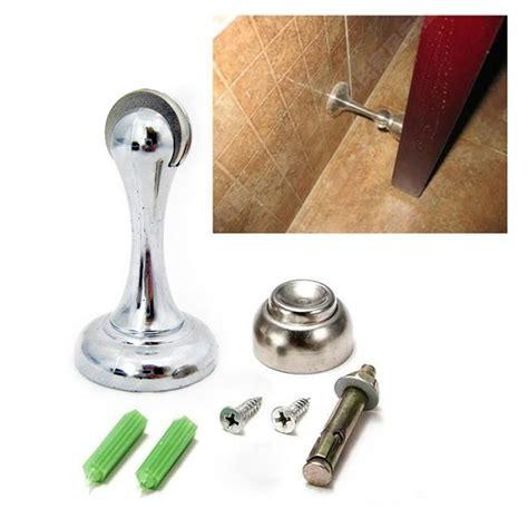 magnetic door stop magnetic door stopper holder safety catch doorstop guard office fitting screws ebay