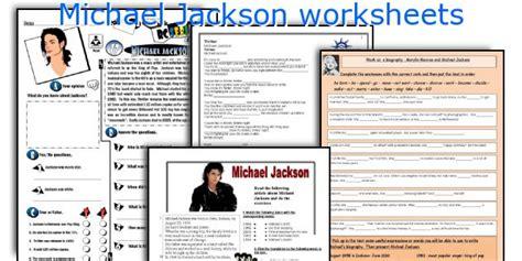 intermediate esl worksheets michael jackson biography english teaching worksheets michael jackson