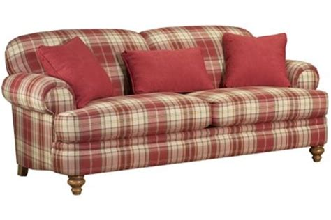 red plaid sofa broyhill broyhill sofa for the home pinterest sofas