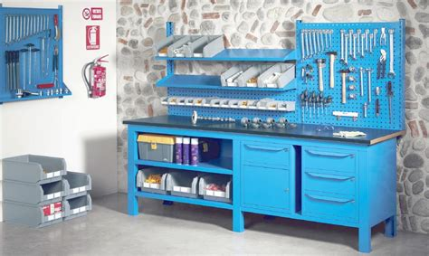 banchi per officina banchi lavoro piano lamiera officina industria
