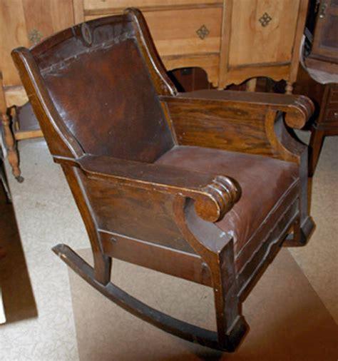 3 seat wooden rocking chair 100 year rocking chair antique appraisal