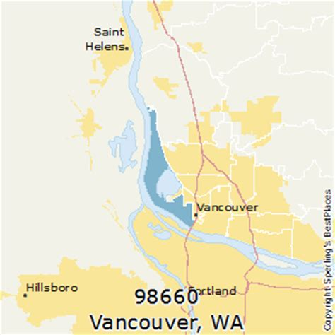 zip code maps vancouver wa best places to live in vancouver zip 98660 washington