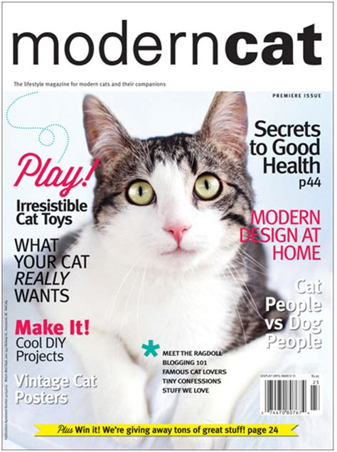 Moderncat Com Giveaways - moderncat magazine for modern cats and their companions i have cat