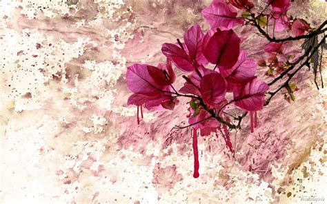 panting at flower paint 6963341